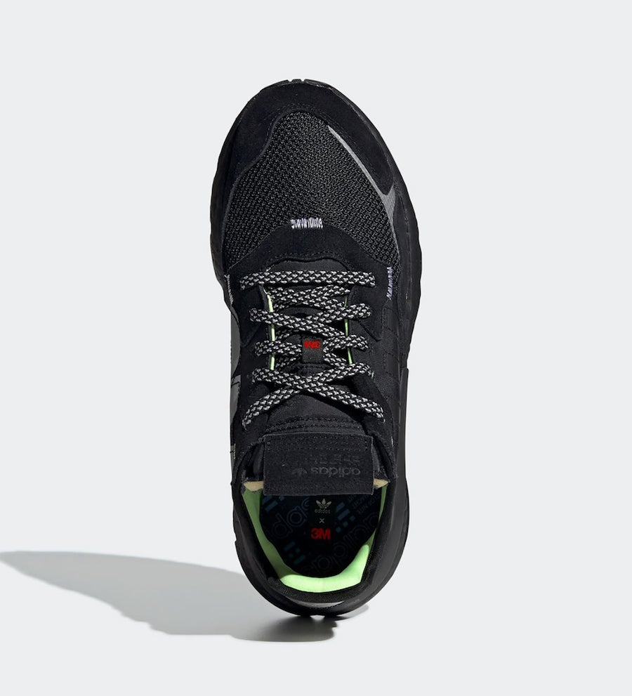 3M adidas Nite Jogger Black EE5884 Release Date Info