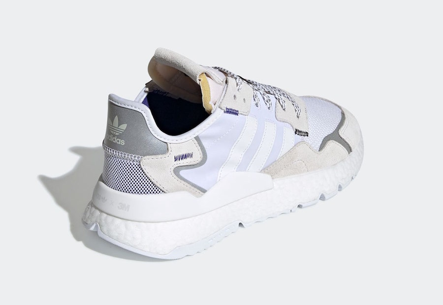 3M adidas Nite Jogger White EE5885 Release Date Info