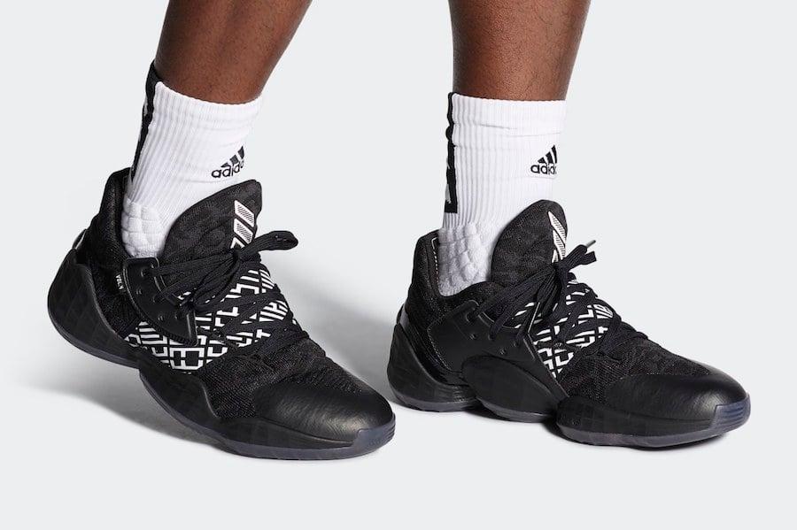 adidas Harden Vol 4 Black EH2410 Release Date Info