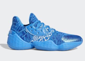 adidas Harden Vol 4 Blue EH2408 Release Date Info