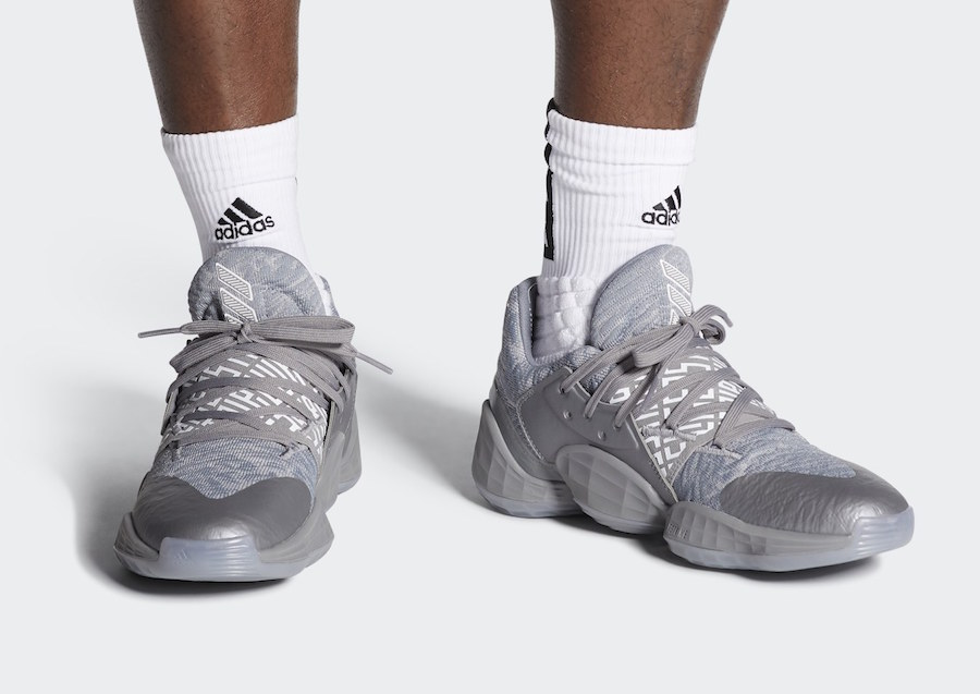 adidas Harden Vol 4 Grey EH2412 Release Date Info