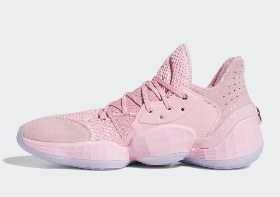adidas Harden Vol 4 Pink Lemonade F97188 Release Date Info