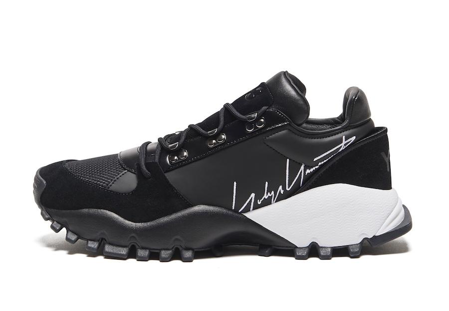 adidas Y-3 Kyoi Trail Black White EF2640 Release Date Info