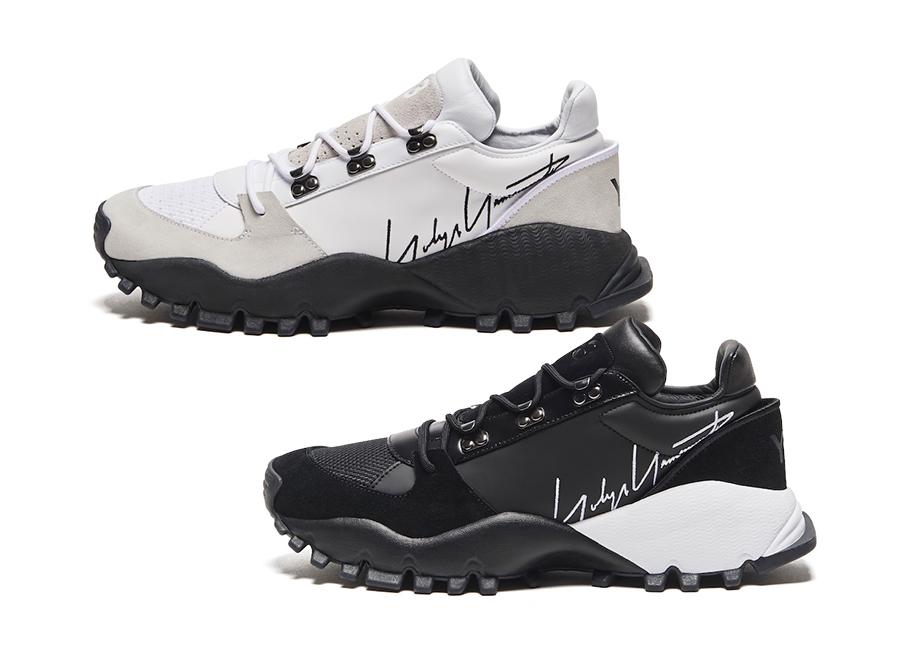 adidas Y-3 Kyoi Trail Black White Release Date Info