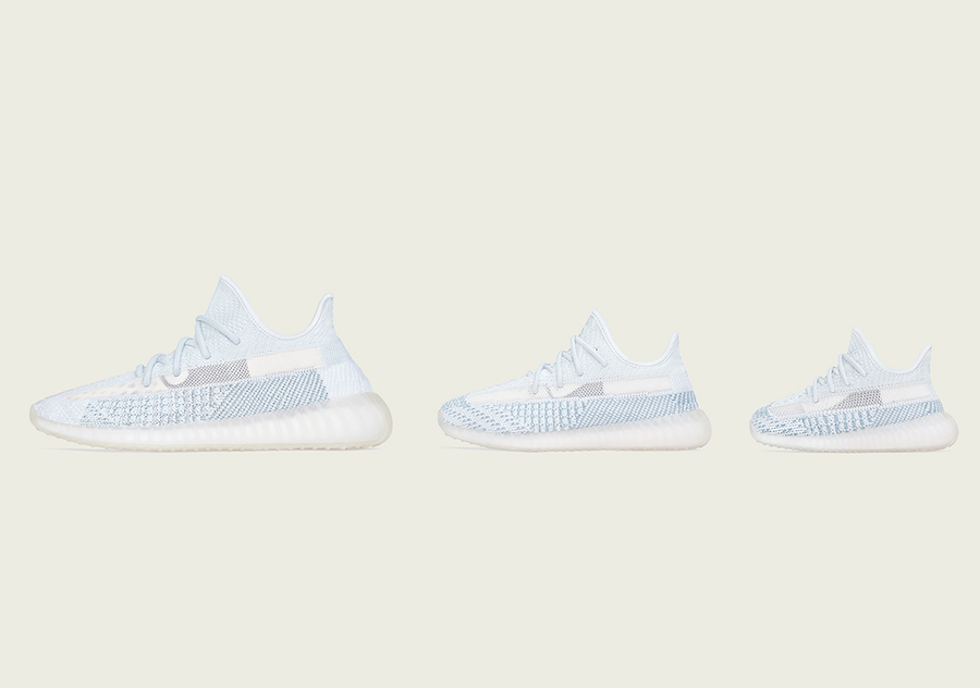 adidas Yeezy Boost 350 V2 Cloud White Release Date