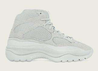 adidas Yeezy Desert Boot Salt FV5677 Release Date Info