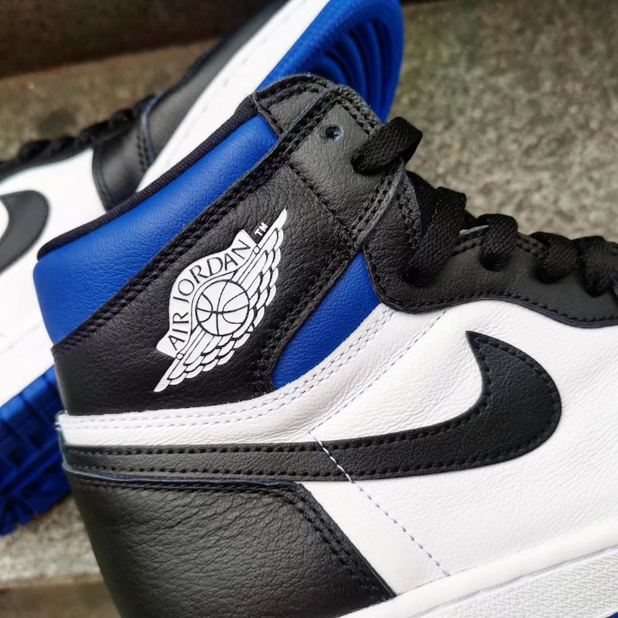 Air Jordan 1 Game Royal Toe 555088-041 2020 Release Date