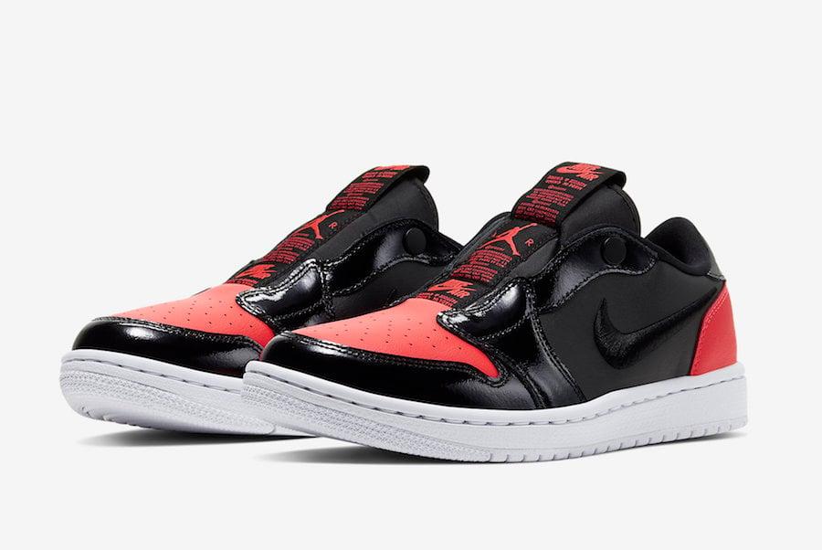 Air Jordan 1 Low Slip Black Infrared