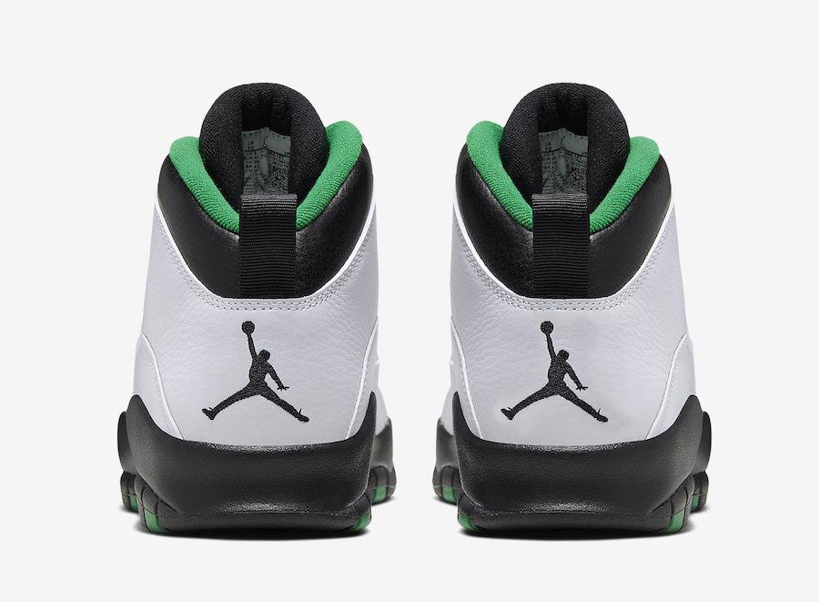 Air Jordan 10 Seattle 310805-137 Release