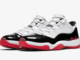 Air Jordan 11 Low White University Red Black True Red AV2187-160 Release Date