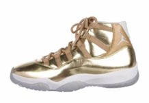 Air Jordan 11 OVO Gold Sample