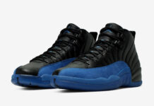Air Jordan 12 Black Game Royal 130690-014 Release Date Details