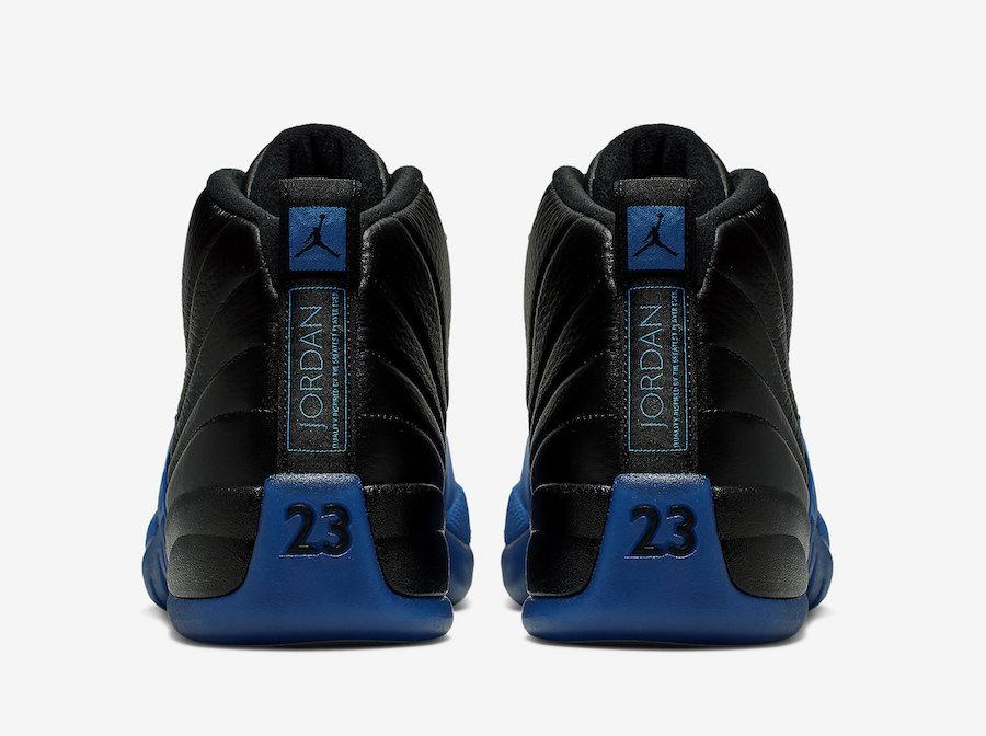 Air Jordan 12 Black Game Royal 130690-014 Release Date Details