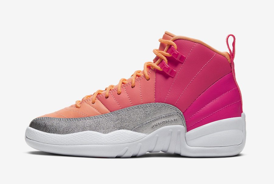 Air Jordan 12 GS Hot Punch 510815-601 Release
