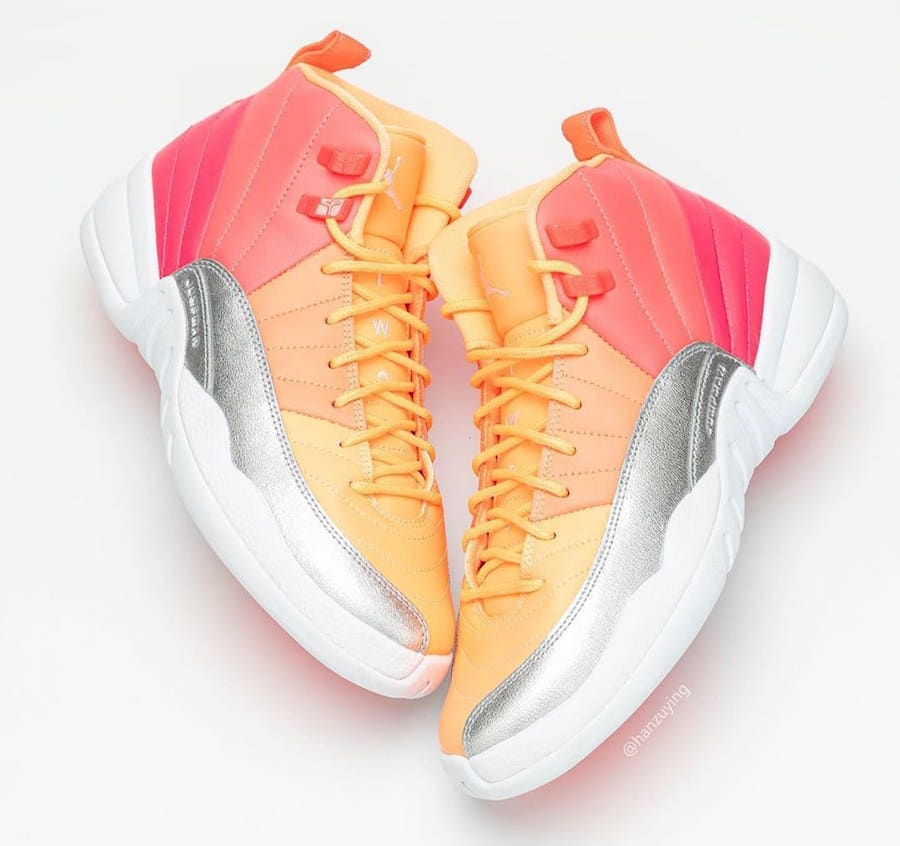 Air Jordan 12 GS Hot Punch 510815-601 Release Details