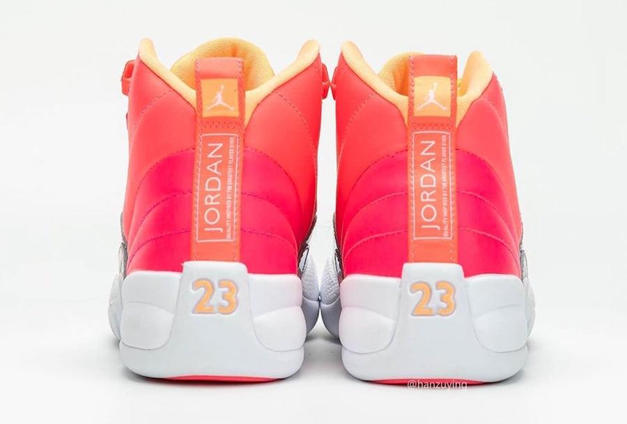 Air Jordan 12 GS Hot Punch 510815-601 Release Details