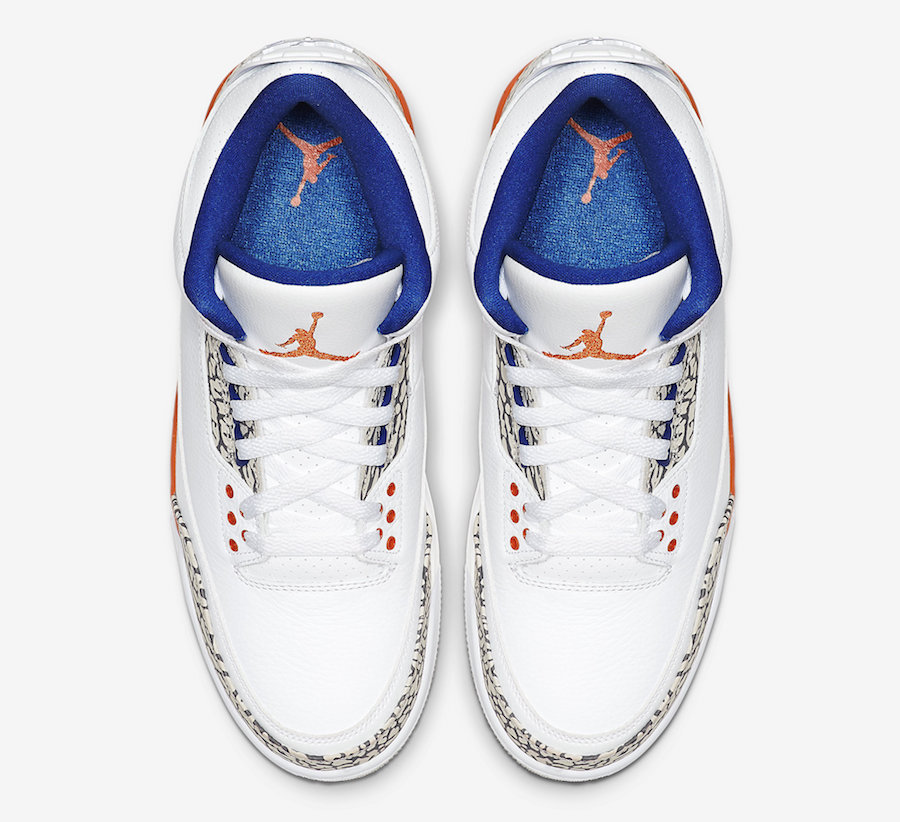 Air Jordan 3 Knicks 136064-148 Official Release Date