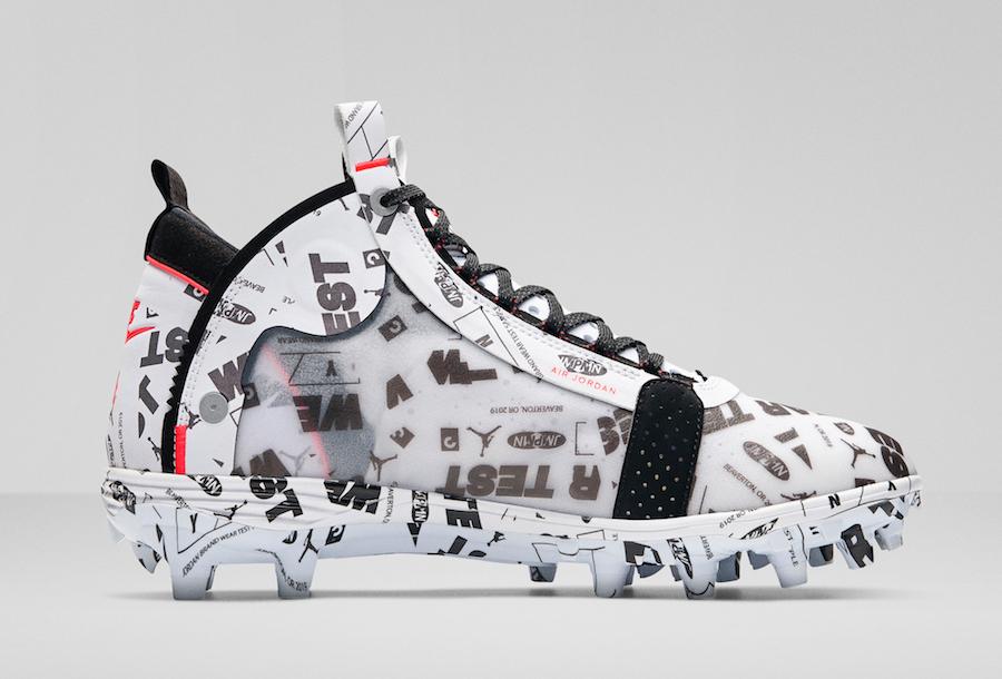 Air Jordan 34 XXXIV Cleats Football