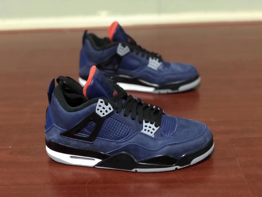 Air Jordan 4 WNTR Loyal Blue Habanero Red Black CQ9597-401 Release Date Info
