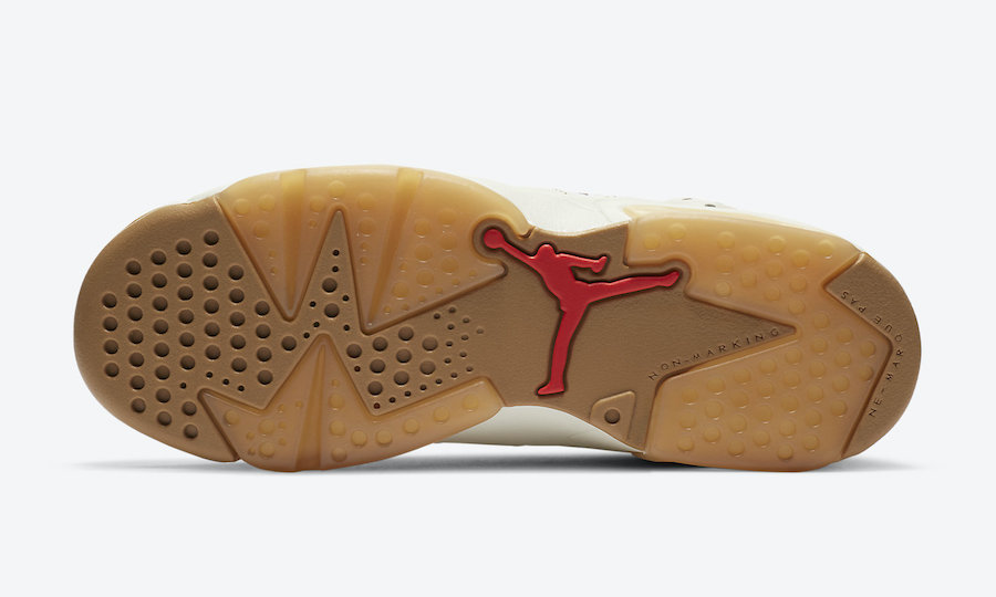 Air Jordan 6 GS Quai 54 CZ6506-100 Release Date