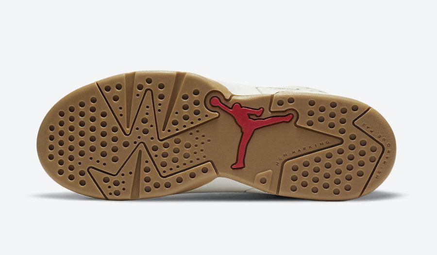 Air Jordan 6 PS Quai 54 Pre-School CZ6507-100 Release Date
