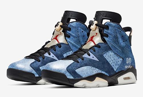 Air Jordan 6 Washed Denim Release Date