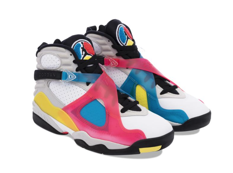 Air Jordan 8 SP SE Multi-Color BQ7666-100 Release Date Info | SneakerFiles