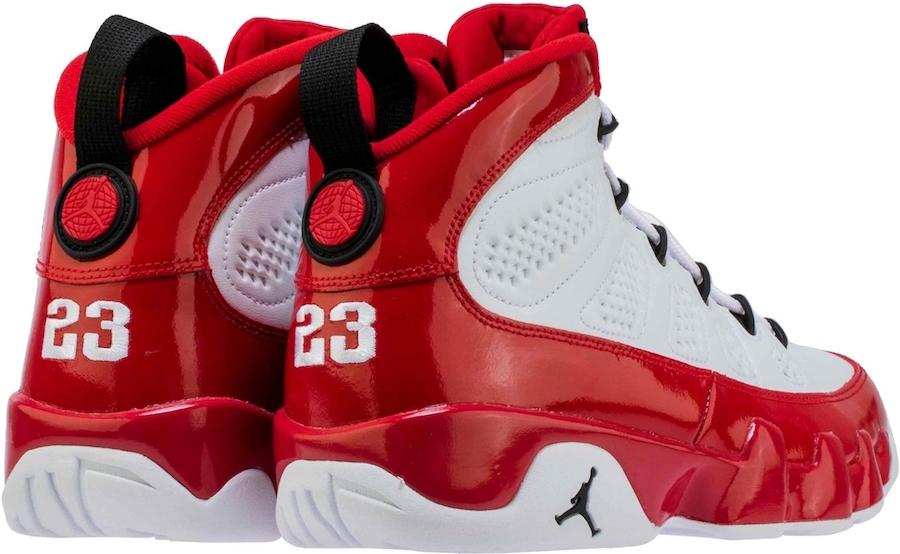 Air Jordan 9 Gym Red 302370-160 Release Info