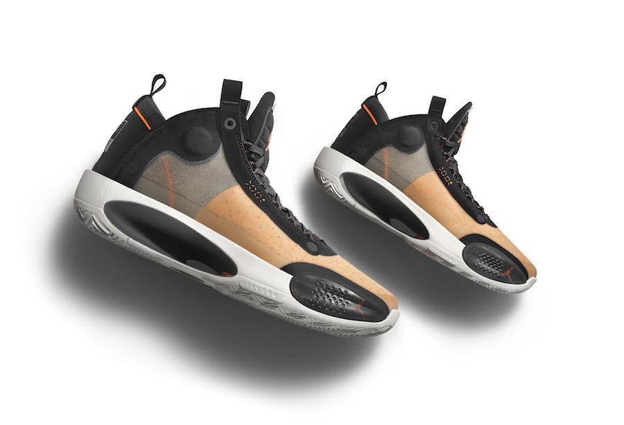 Air Jordan XXXIV 34 Amber Rise