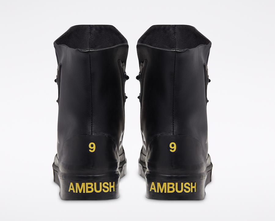 AMBUSH Converse Pro Leather Black Release Date Info