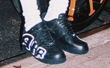 ASAP Rocky Cactus Plant Flea Market Nike Air Force 1 Low Black White