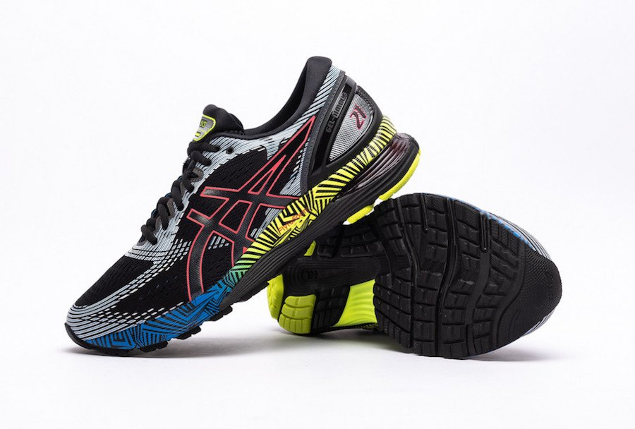 Asics Gel Nimbus 21 LS Black Electric Blue Release Date Info