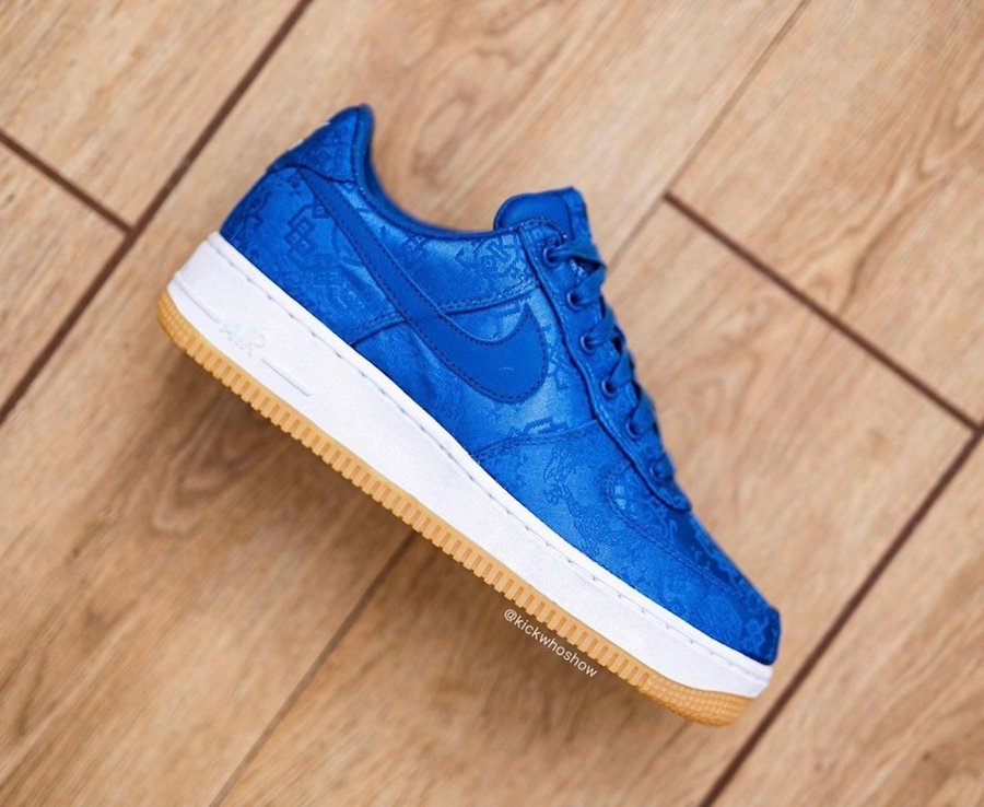 Clot Nike Air Force 1 Low Game Royal CJ5290-400 Release Date Info