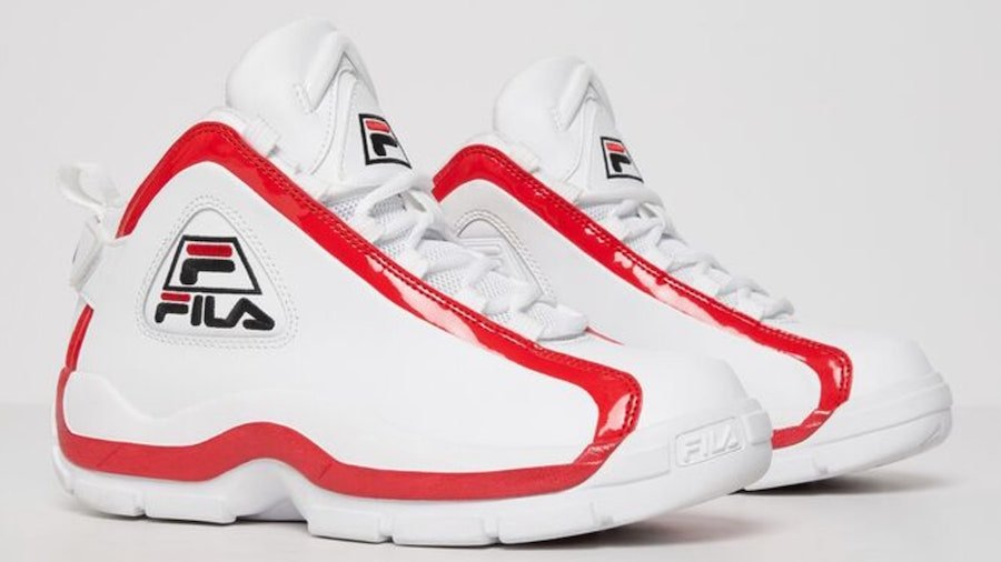 Fila Grant Hill 2 White Red Navy 2019 Retro Release Date Info | SneakerFiles