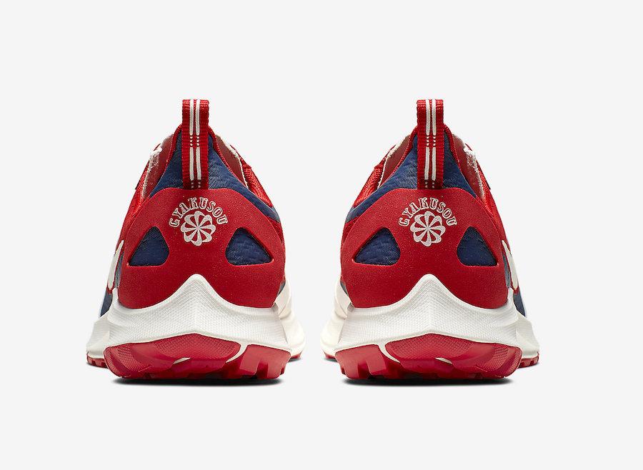 Gyakusou Nike Air Zoom Pegasus 36 Trail Red CD0383-600 Release Date Info