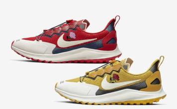 Gyakusou Nike Air Zoom Pegasus 36 Trail Red Yellow Release Date Info