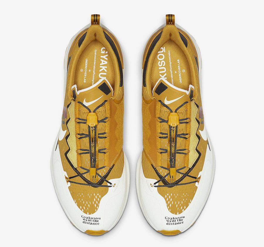 Gyakusou Nike Air Zoom Pegasus 36 Trail Yellow CD0383-700 Release Date Info