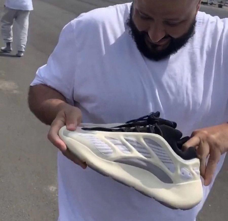Kanye West Gifts DJ Khaled adidas Yeezy 700 V3