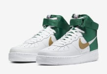 NBA Nike Air Force 1 High Celtics BQ4591-100 Release Date Info