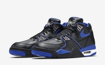Nike Air Flight 89 Black Royal Blue 819665-001 Release Date Info
