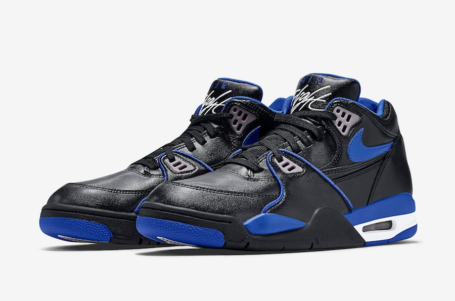Nike Air Flight 89 Black Royal Blue 819665 001 Release Date