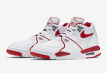 Nike Air Flight 89 White University Red 819665-100 Release Date Info