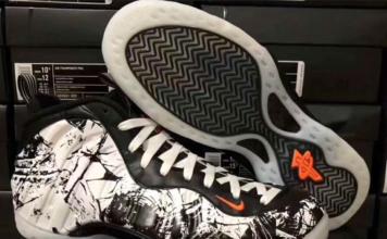 Nike Air Foamposite One Black White Total Orange 314996-013 Release Date Info