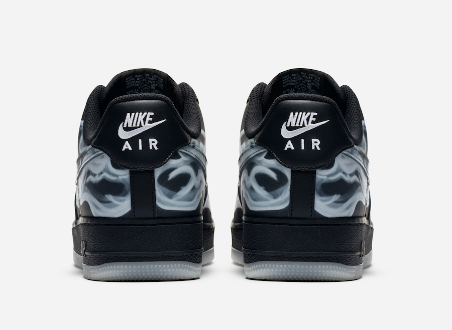 Nike Air Force 1 Black Skeleton Release Date