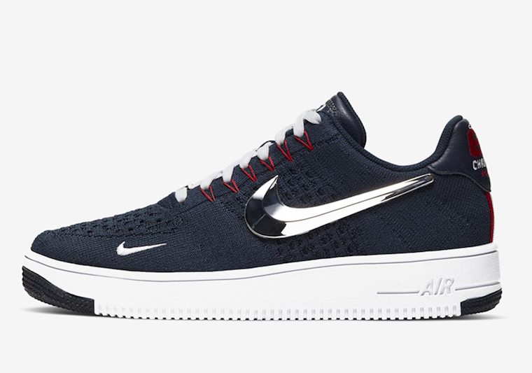 Nike Air Force 1 Flyknit New England Patriots Release Date Info