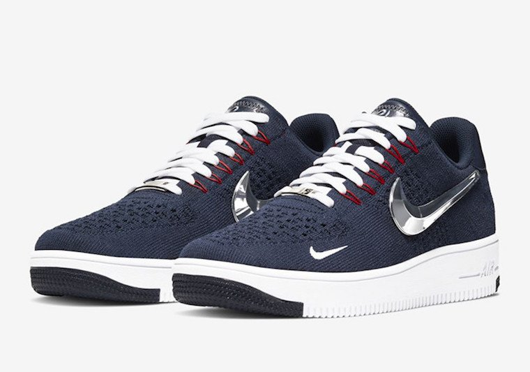 Nike Air Force 1 Flyknit New England Patriots Release Date