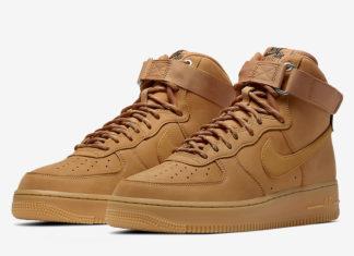 Nike Air Force 1 High Wheat Flax CJ9178-200 Release Date Info
