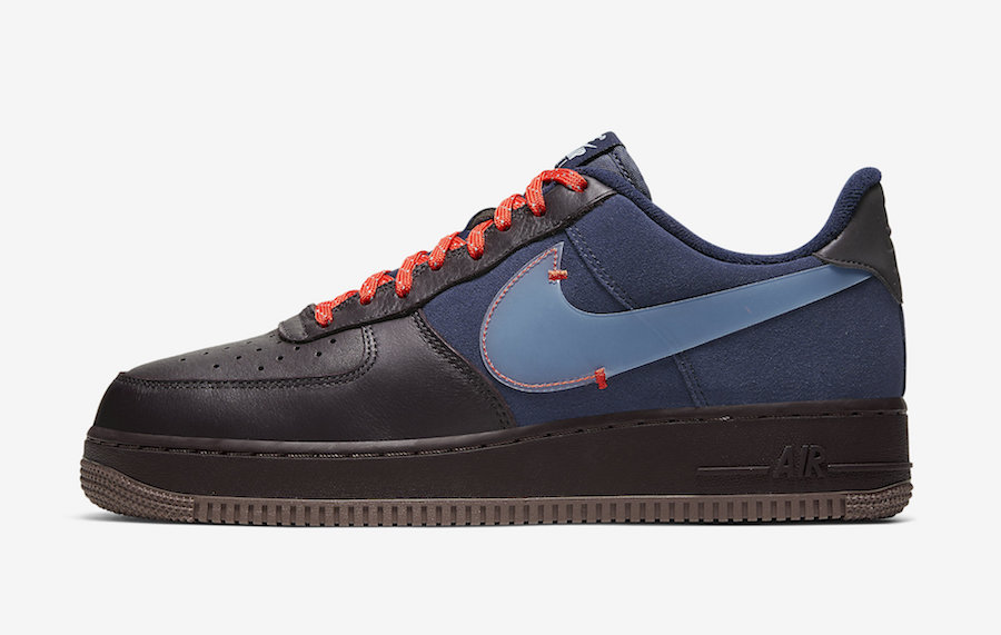 Nike Air Force 1 Low Burgundy Ash Celestine Blue CQ6367-600 Release Date Info