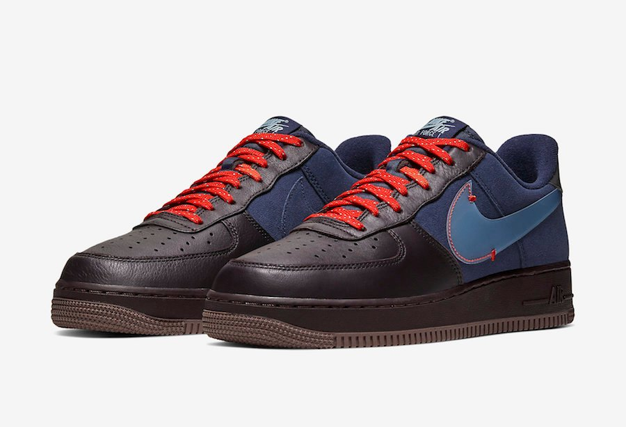 Nike Air Force 1 Low Burgundy Ash Celestine Blue Cq6367 600 Release Date Info Sneakerfiles