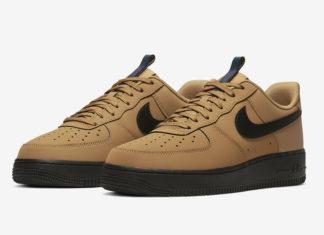 Nike Air Force 1 Low Wheat Black BQ4326-700 Release Date Info